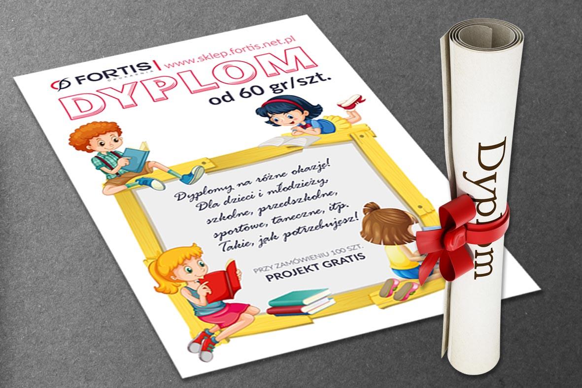 Dyplomy - drukarnia Fortis